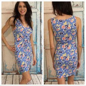 Dresses & Skirts - Floral Blue Dress